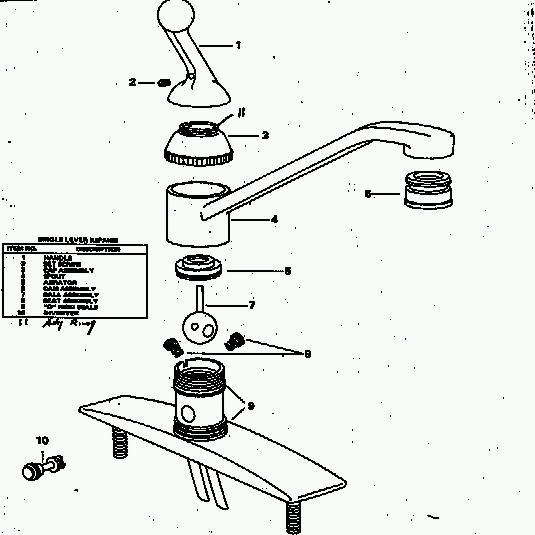delta single handle kitchen faucet repair diagram delta delta kitchen faucet parts diagram design ideas 47 with
